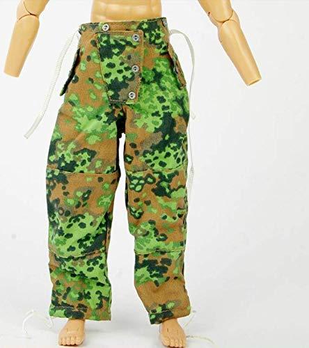 Kleding Model 1/6 Schaal Mannelijke Soldaat Broek Camouflage Broek Kleding Model Fit voor 12
