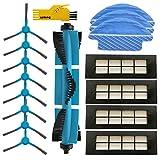 Accesorios para aspiradora Robot Cecotec Conga Excellence 3090 Paquete de 1 Cepillo Principal 4 filtros Hepa 8 cepillos...