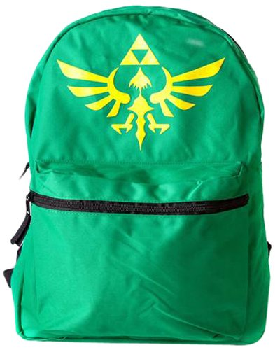 Sac À Dos 'The Legend Of Zelda' - Noir/Vert [Importación