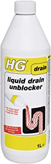 HG 139100106 Liquid 1L-Unblocks Thoroughly and Effectively-for Blocked Drain Pipes in Handbasins, Toilets or Shower Traps