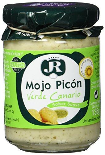 JR Suarez Mojo Picón Verde - grüne kanarische Sauce, 1er Pack (1 x 135 g)
