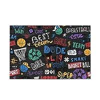 Akiraki ジグソーパズル バスケ バスケット かわいい 可愛い 1000ピース パズル 木製 ピクチュアパズル 大人用 減圧 子供用 知育 おもちゃ puzzle 50x94cm