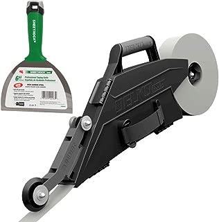 Delko ZUNDER Drywall Banjo Taper Taping Tool with Inside Corner Roller Wheel (Banjo w/USG Joint Knife)
