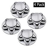 Big Autoparts 4 Pack 7 inch Wheel Hubcaps Chrome Wheel Hub Covers Center Cap for Ford F-150 Expdition 1997-2000