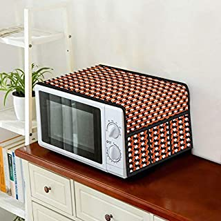 Home Layer Microwave Oven Top Cover 15 LTS to 23 LTS with Pockets (30 x 14 inch)