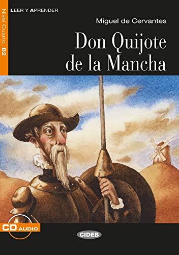 Don Quijote de la Mancha: Spanische Lektüre für das 5., 6. und 7. Lernjahr. Buch + Audio-CD (Leer y aprender)