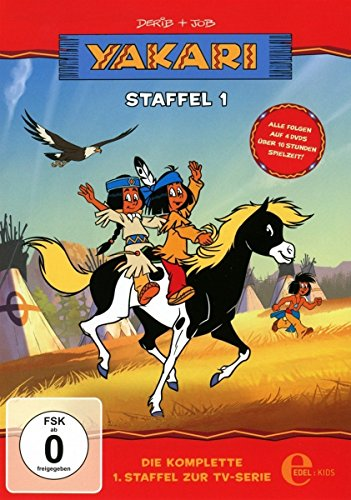 """Yakari – """"DVD Staffelbox\"""" – Die komplette erste Staffel zur TV-Serie"""