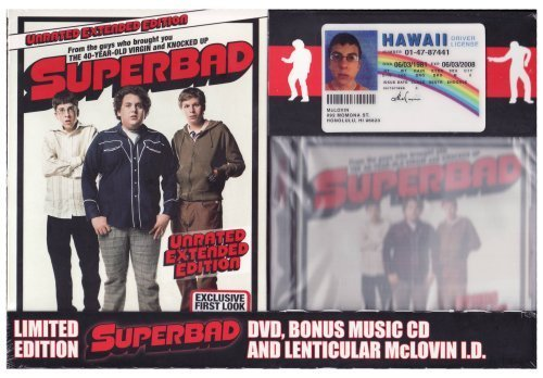 Superbad (Widescreen Unrated Extended Edition) (Includes Limited Edition Soundtrack + Realistic Lenticular