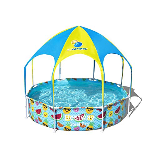 Bestway Steel Pro UV Careful - Piscina con Marco de Acero (sin...