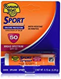 Banana Boat Sport Spf 50 Sunscreen Lip Balm, 6 Count...