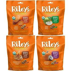 Riley's Organics Small Bone Dog Treats Variety Pack 5 oz