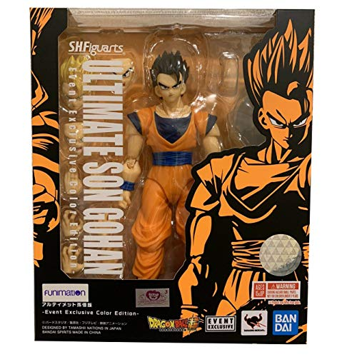 Tamashii Nations SDCC 2019 Exclusive S.H. Figuarts Dragonball Ultimate Son Gohan DBZ Dragon Ball Z-ultimate Collection