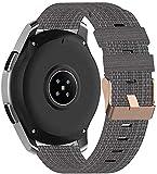 Classicase Compatible con Garmin Vivoactive 4S (40MM) / vivomove 3S (39MM) Correa de Reloj, Pulsera Deportivo de Reloj de Nylon, con Cierre de Clip, Respirable y Reemplazable (18mm, Pattern 2)