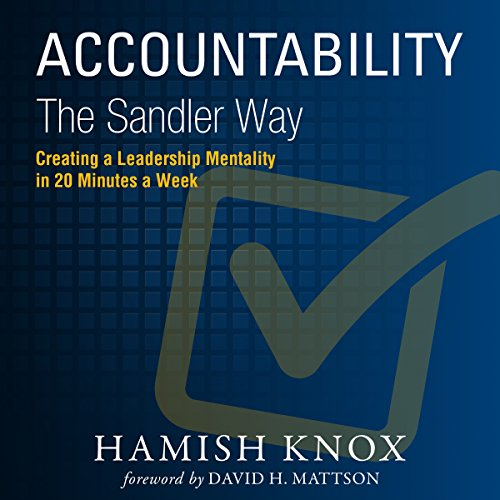 Accountability the Sandler Way audiobook cover art