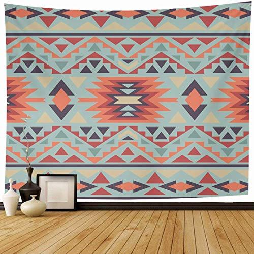 NA Tapiz Colgante de Pared Obra de Arte Amarillo Navajo Americano Abstracto Indio Geométrico Tribal Azteca Chevron Diseño Cultural Decoración del hogar Tapices Dormitorio Decorativo Salón Dormitorio
