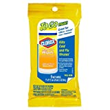 Clorox Disinfecting Wipes On The Go, Bleach Free Travel Wipes - Citrus Blend, 9 Count