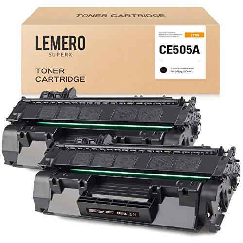 LEMERO SUPERX 05A CE505A Tóner compatible con HP 05A CE505A para HP Laserjet P2055DN P2035 P2035N P2055X P2055D Pro M401DN M401DNE M401DW MFP M425DN MFP M425DW