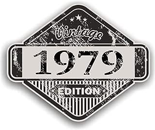 FADE a negro llevar Grunge Dise/ño ovalado con bandera de Racing de cuadros para casco Moto Pegatina para coche 150x 75mm