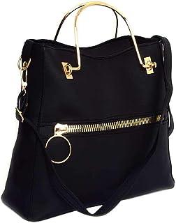 حقيبة كبيرة توتس للنساء من يورو - اسود