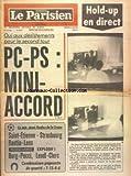 PARISIEN LIBERE (LE) [No 11417] du 05/06/1981 - OUI AUX DESISTEMENTS POUR LE SECOND...