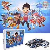 Miotlsy 1000 Piezas Puzzle de Paw Patrol Rompecabezas para niños Puzzle Panorama para Carnaval niños pequeños de Rompecabezas