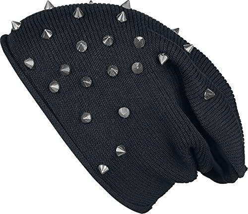 Black Premium by EMP Bonnet Unisexe Bonnet noir, 65% Viscose, 35% Polyamide, Regular / Coupe standard