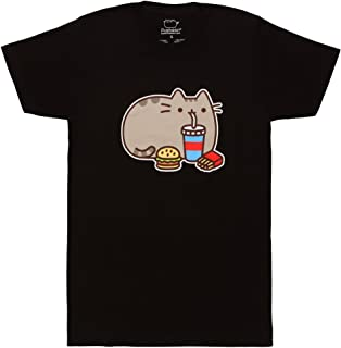 The Cat Fast Food Adult T-Shirt