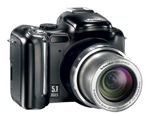 Kodak EASYSHARE P850 Zoom Digital Camera 5,1 MP CCD Negro - Cámara Digital (5,1 MP, CCD, 12x, 403 g, Negro)