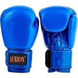 Aurion Pro Style Training Boxing Gloves (Blue, 12 Oz)