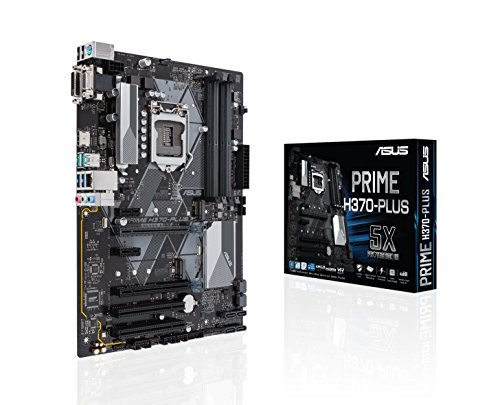 Asus Prime H370-PLUS Intel H370 LGA 1151 (Socket H4) ATX
