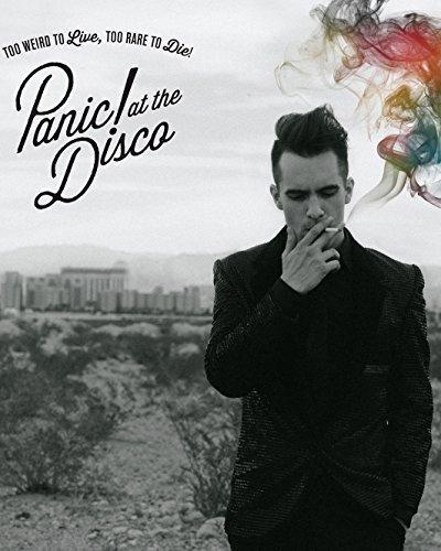 Pôster de show Panic At the Disco Rock Band Decoração de casa # 12,7 x 45,7 cm