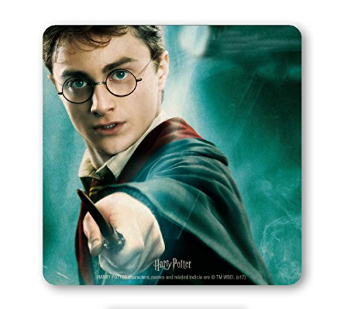 Logoshirt Pelicula - Harry Potter - Harry - Retrato - Posavasos - Coaster - Coloreado - Diseño Original con Licencia