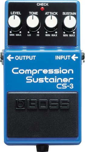 Boss Bass Compressor pedaal CS-3 blauw