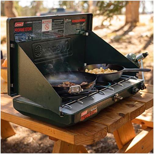 Coleman Gas Camping Stove | Classic Propane Stove, 2 Burner 4