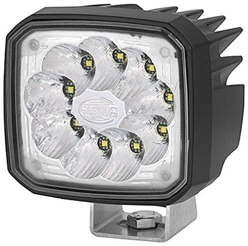Hella 1GA 995 506-031 Arbeitsscheinwerfer - Ultra Beam - LED - 12V/24V - 2000lm - Anbau - hängend/stehend - weitreichende Ausleuchtung - Deutsch
