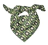 Bimba Gris cuadrada y jazmín árabe floral pañuelo de cabeza de seda con estampado de pañuelos de seda pura estampado 40 x 40 Pulgadas