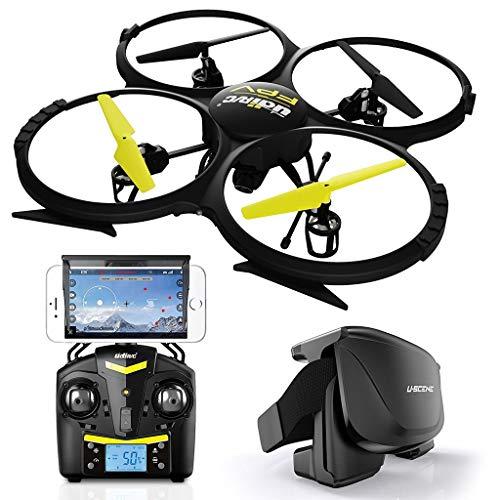 RC Quadrocopter U818A WiFi 2.0 MP FPV mit 3D VR Box (Brille)