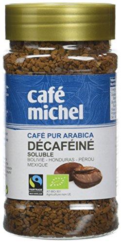 Café Michel Café BIO Soluble Décaféiné 100 g - Lot de 3