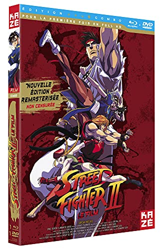 Street Fighter II Edition Collector [Combo Blu-Ray + DVD-Version Non censurée]