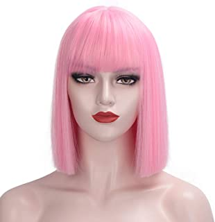 Best short bob with bangs wig Reviews