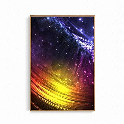 Lienzo decorativo para pared exterior con estrellas de Nebula, impresión artística de Universo natural para dormitorio infantil habitación Home Decor Galaxy