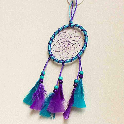 JYHW handgemaakte dromenvanger stof kunst Indiase wind bel veren kralen geschenk Home Deco