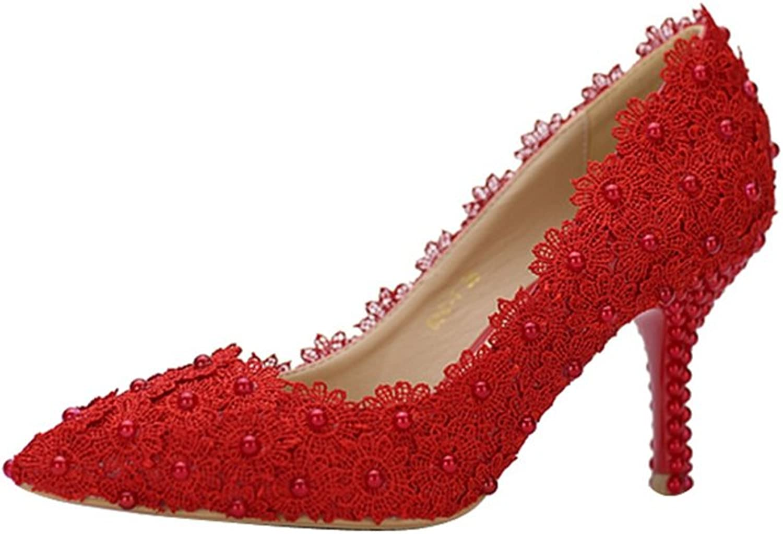 Miyoopark LL193 Women's Pointed Toe Bridal Bridesmaid Wedding Evening Pumps shoes