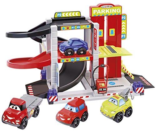 Ecoiffier 3043 - Abrick City Garage, Spiel