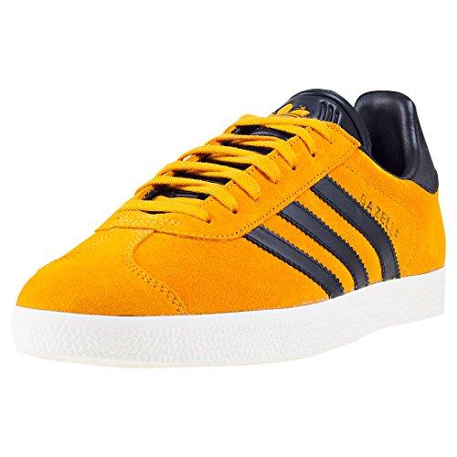 adidas Gazelle, Zapatillas para Hombre, Amarillo (Tactile Yellow F17/core Black/Gold Met.), 39 1/3 EU