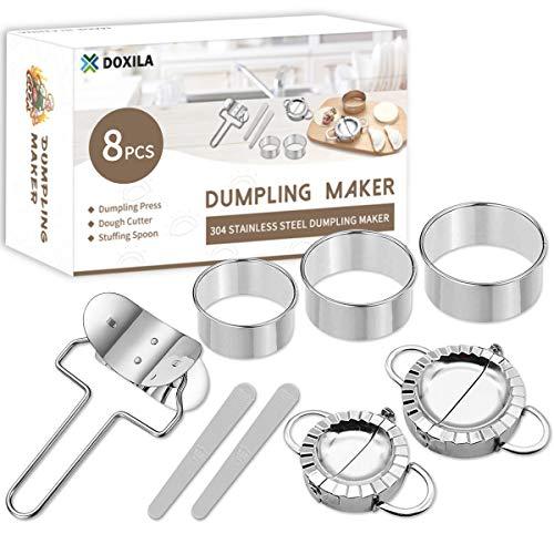 Stainless steel dumpling maker set