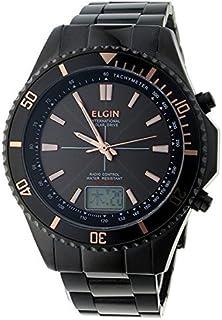 エルジン 電波 ソーラー メンズ 腕時計 FK1415B-BP グレー
