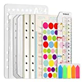 2 Pack A5 Refill Lined Paper Set...