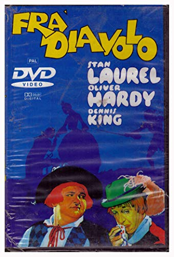 Fra' Diavolo (Stanlio & Ollio) 1^ rarissima Edizione LEGOCART bollino ROSA