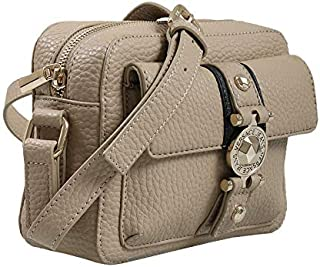 EE1VSBBF1 EMDU 723+899 Taupe/Black Shoulder Bag for Womens